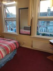 Nice double room available with EnglishESOL lessons( optional). Nice double room in a 3 bedroom house with all modern conds, WiFi. House very clean, quiet, cosy and safe, shared with an English teacher. Location Walthamstow, Victoria line, 30 mins to Central London, good buses and trains connection. ...