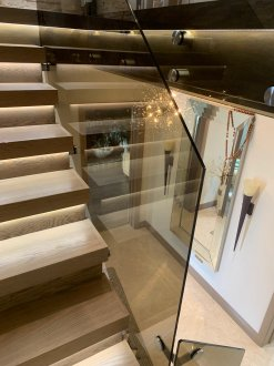 We offer glass splashbacks for kitchens, glass balustrades ,partition, doors ,showers screens ,mirrors ,back-painted wall cladding ,on supply only basis or completed with survey and installation. Uk delivery